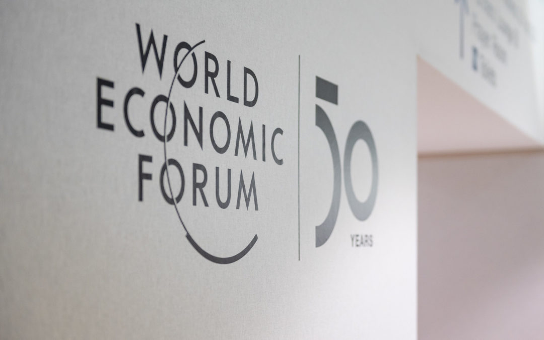 We Congratulate the World Economic Forum on Their 50th Anniversary